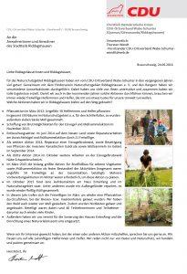 Brief Natur Riddagshausen