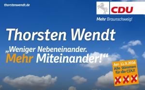 Kommunalwahl 2016: Thorsten Wendt