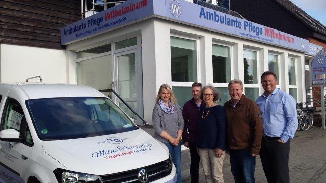 CDA-Kreisverband Braunschweig besucht die Tagespflege Querum