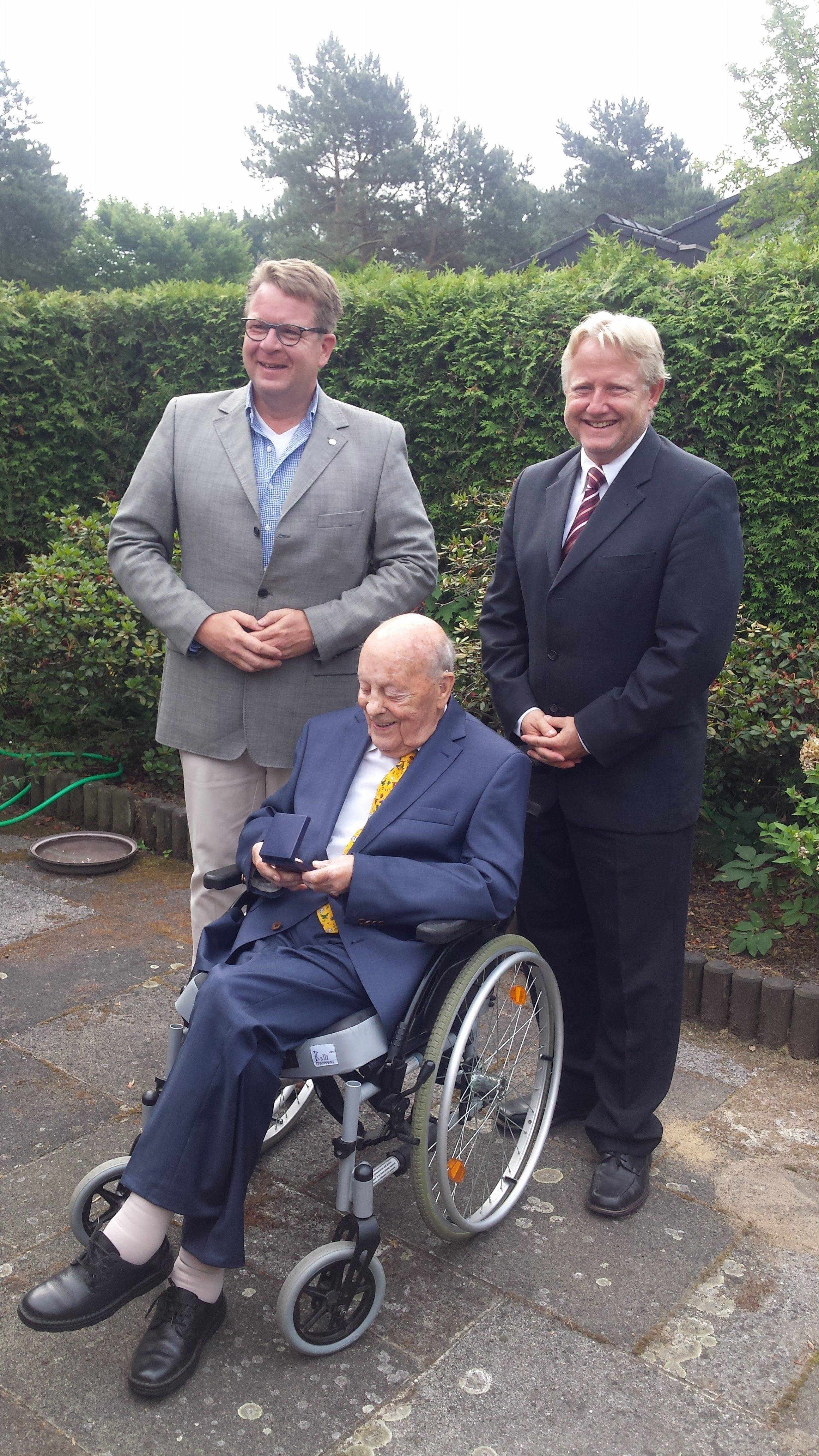 Wir haben einen ganz besonderen Geburtstag zu feiern! 100. Geburtstag von Friedrich Ludwig Tile von Kalm.