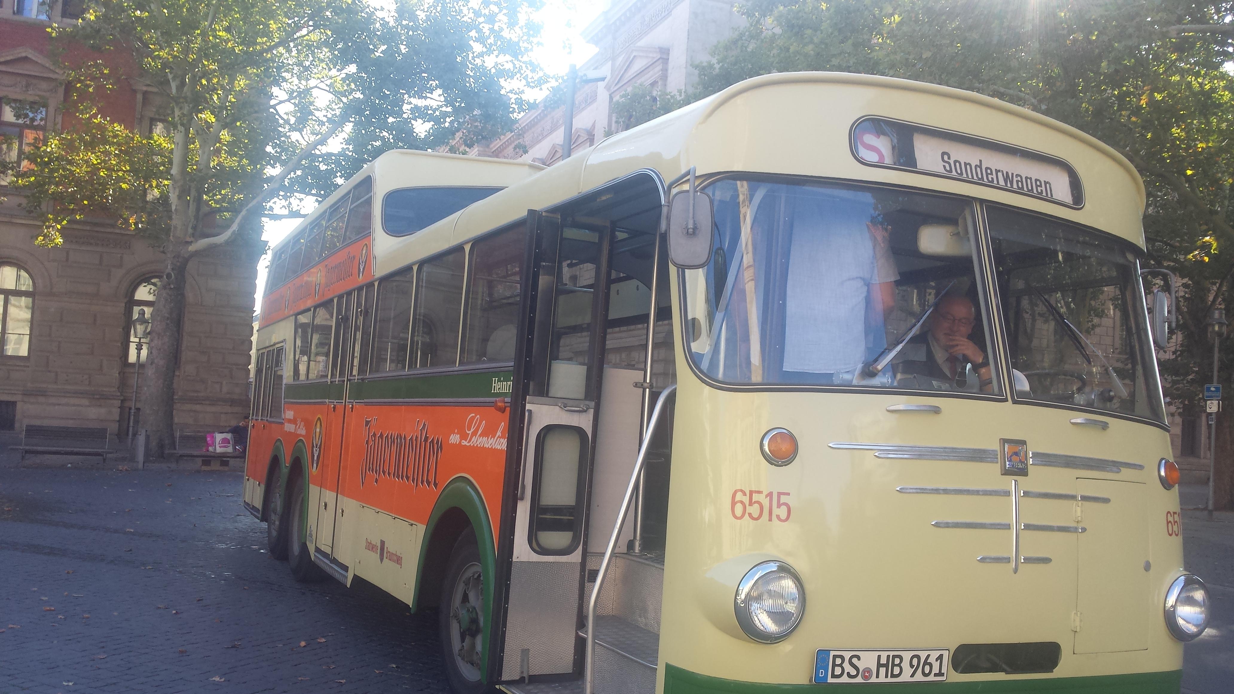 Anderthalbdeckerfahrt durch Braunschweig